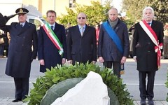 Pisa, cerimonia al Villaggio profughi