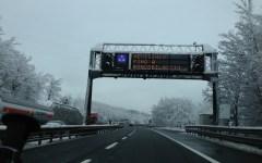 Allerta meteo in Toscana: neve a bassa quota