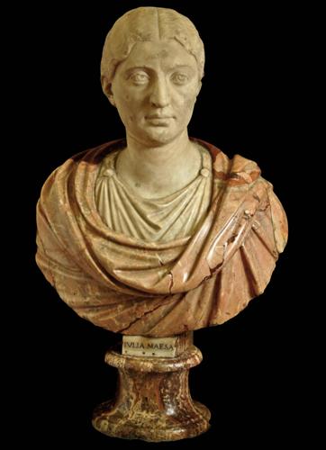 """Uffizi, restaurato il busto lapideo di """"Giulia Maesa"""", prima del restauro (Foto Polo museale di Firenze)"""