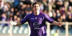 Goal di Jovetic Fiorentina vs Parma (Foto Sanesi La Presse)
