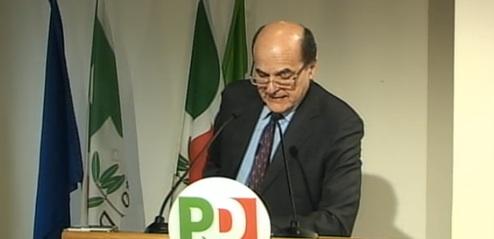 La relazione del segretario Pierluigi Bersani alla direzione nazionale del Pd