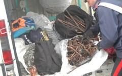 I carabinieri fermano la banda del rame, cinque arresti