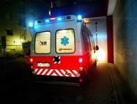 Incidente mortale, intervento del 118