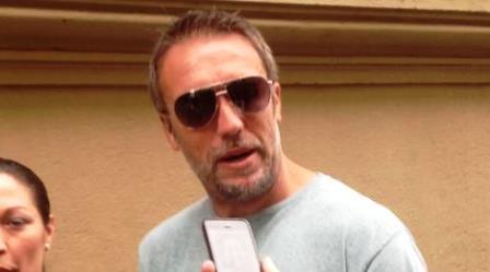 Gabriel Omar Batistuta è tornato a Firenze