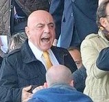 Minacce a Galliani allo stadio: deferita la Fiorentina