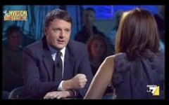 "Renzi: ""Marini? L'ha scelto Berlusconi"""