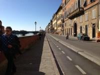 Lungarno Corsini in preda ai lavori