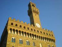 Sit-it di protesta dei presidi davanti a Palazzo Vecchio