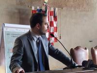 Il sindaco di Pistoia, Samuele Bertinelli