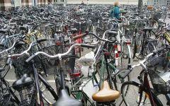 Firenze: troppe bici sui monumenti. Via alla rimozione. Blitz al Ponte Vecchio