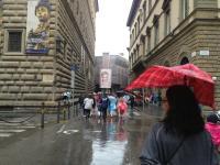 Guarda Firenze bagnata (Foto Cristina Giachi via Twitter)
