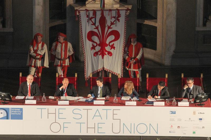 The state of the Union 2013 a Palazzo Vecchio