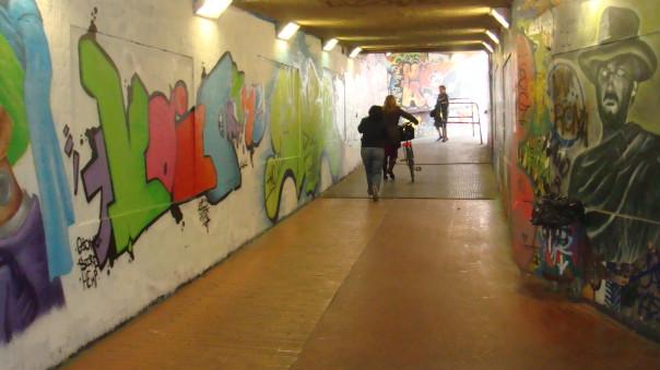 Sottopasso della stazione di Rifredi
