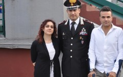 Giangrande, tutti in campo per il carabiniere ferito
