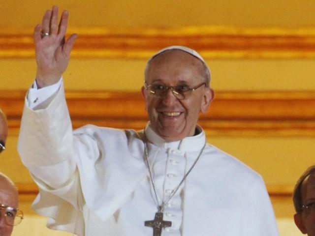 Papa Francesco a Firenze nel novembre 2015
