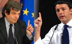 Renato Brunetta e Matteo Renzi Renato Brunetta e Matteo Renzi