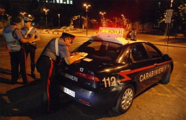 Controlli notturni dei Carabinieri di Firenze