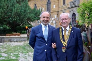 Carlo Mazzotti (a sin.) e Alberto Tozzi