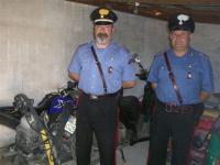 Il nascondiglio di moto rubate scoperto dai carabinieri di San Piero a Sieve
