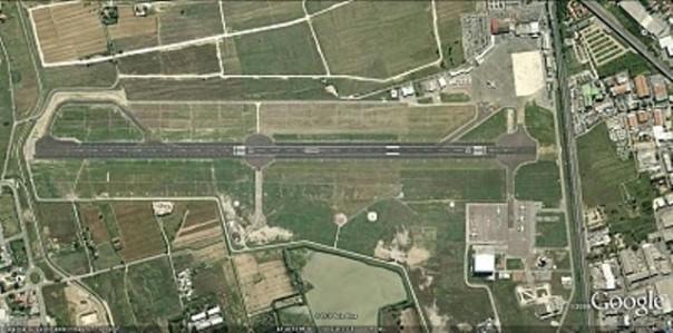 La pista dell'aeroporto Amerigo Vespucci di Firenze