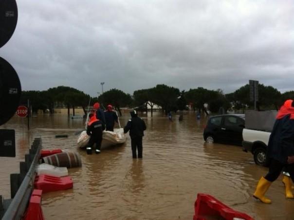 L'alluvione che colpì la provincia di Grosseto nel novembre 20122
