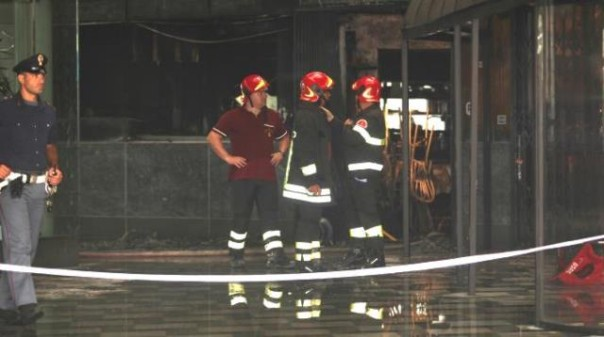 Un rogo ha distrutto un ristorante a Pontremoli