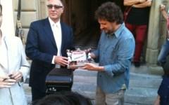 Leonardo Pieraccioni premiato ad Arezzo