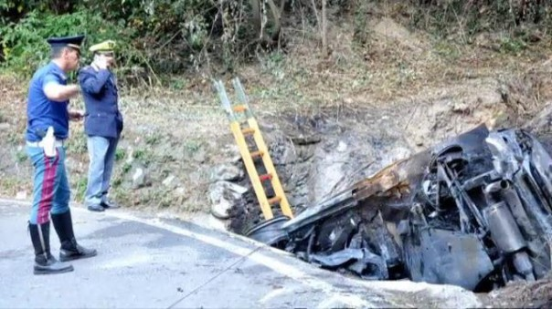 L'incidente al rally di Lucca del 22 luglio 2012