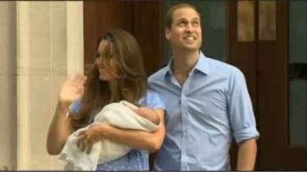 Il royal baby inglese, erede alla corona
