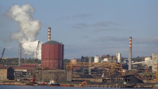 La siderurgia di Piombino in crisi