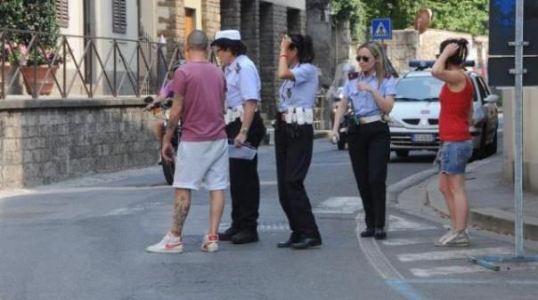 Firenze, il luogo dove la suora è stata investita dai ciclisti