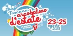 La locandina di «Arcobaleno d'Estate» 2013
