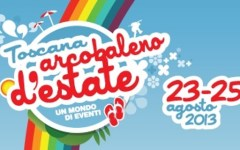 Toscana, comincia con un tuffo collettivo «Arcobaleno d'estate»