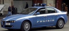 I rapinatori della farmacia bloccati dai poliziotti