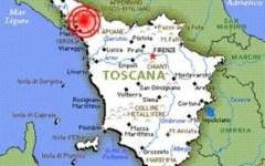Terremoto, scossa di magnitudo 2.9 tra Lucca e Massa Carrara