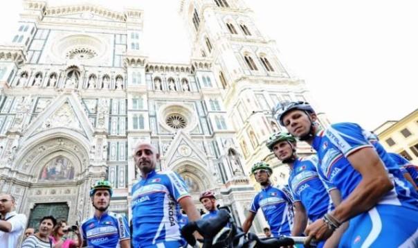 Mondiali di ciclismo, Bettini sul percorso toscano