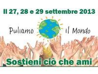 Puliamo il mondo 27-29 settembre 2013