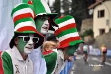 I tifosi italiani ai Mondiali di ciclismo aspettano ancora di applaudire un italiano sul podio