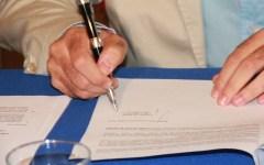 Firenze, Renzi firma la Carta Sprecozero
