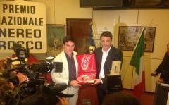 Vincenzo Montella premiato con il Nereo Rocco