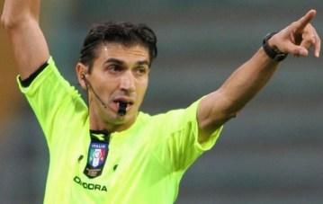 Arbitro Gianpaolo Calvarese