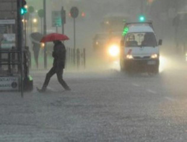 Allerta per forti piogge sulla Toscana