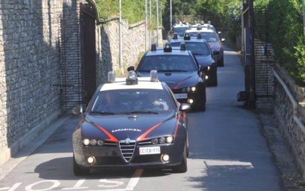 Blitz dei carabinieri, arresti tra Toscana e Calabria