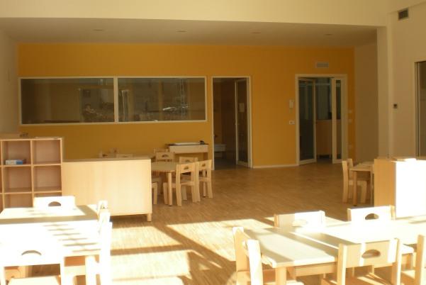 Centro infanzia zero-sei di Montevarchi; aula