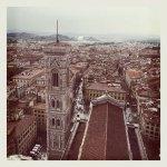 Duomo di Firenze, immagine scattata con Instagram, courtesy Opera di Santa Maria del Fiore