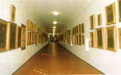 Firenze, intonaco si stacca nel Corridoio Vasariano
