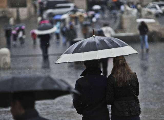 Il ciclone Penelope porta nuove piogge nel fine settimana