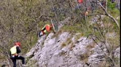 Intervento del soccorso alpino, salvato un anziano caduto in una scarpata