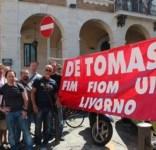Lavoratori della De Tomaso di Livorno