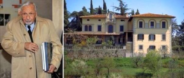 Licio Gelli e Villa Wanda